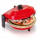 RICONDIZIONATO - Spice Caliente Forno Pizza 400 gradi resistenza circolare calotta acciaio Inox 1200 W Garanzia Italia 2 anni