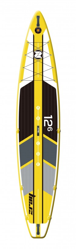 Tavola Stand Up Paddle SUP Gonfiabile ZRAY R1 SUP da Cm 381x76x15 - Racing SUP Board