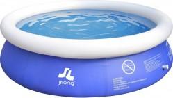 Piscina Fuoriterra Rotonda Cm 240x63 Gonfiabile Autoportante Blu Jilong con Pompa Filtro