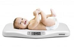 G3Ferrari Crescobene Bilancia Elettronica pesa bimbi bambini ergonomica 5gr / 20 Kg