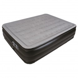 Jilong Air Bed high raseid Queen Relax grigio blu 212X163X55 materasso gonfiabile con acciessori