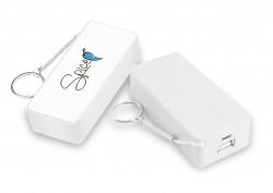 SPICE - 5200 MAH -POWER BANK BATT. EMERGENZA SMARTPHONE-I-POD-I-PHONE-S 3 -S 4 -S 5- TUTTI I TELEFONI DI NUOVA GENERAZIONE COLORE BIANCO