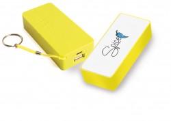 SPICE - 5200 MAH -POWER BANK  BATT. EMERGENZA SMARTPHONE-I-POD-I-PHONE-S 3 -S 4 -S 5- TUTTI I TELEFONI DI NUOVA GENERAZIONE COLORE GIALLO