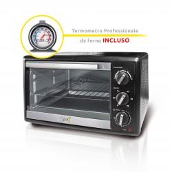 Spice Habanero 31 litri Forno Fornetto elettrico ventilato doppio vetro 1500 W con Termometro Professionale
