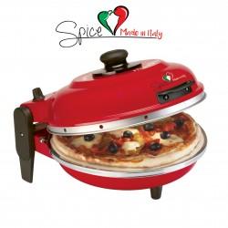 SPICE - FORNO PIZZA DIAVOLA 400 GRADI 1200 W - MADE IN ITALY GARANZIA ITALIA 2 ANNI-RESISTENZA CIRCOLARE