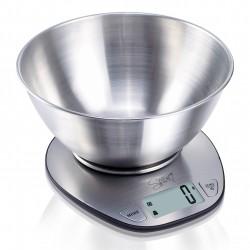 SPICE - DOPPIOZERO Bilancia digitale elettronica da cucina in acciaio inossidabile
