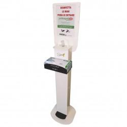 Spice Totem Gel Premium by MAPA - totem porta dispenser gel disinfettante mani