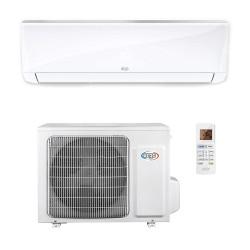 ARGO Ecowall 24 Climatizzatore Fisso, DC Inverter, senza WiFi, con pompa di calore, Bianco, 24000 BTU/h