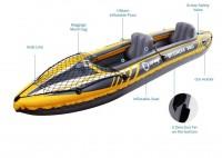 Kayak Canoa Gonfiabile Biposto ZRAY St.Croix 350x78x52 ideale per principianti