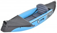 Kayak Canoa Gonfiabile Monoposto ZRAY Roatan Cm 277x77x34 una pagaia doppia pala e borsa trasporto inclusi