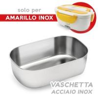 Spice Vaschetta di ricambio Acciaio Inox per Amarillo Inox scaldavivande elettrico schiscetta box portavivande termico