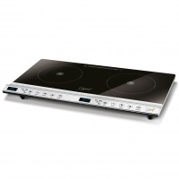 SPICE CHILI DUAL Fornello a Induzione Digital Touch piastra doppia 1300+1800 W