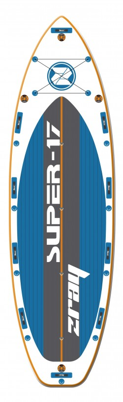 Tavola Stand Up Paddle SUP Gonfiabile ZRAY S17 da Cm 518x152x20 - Super SUP Board