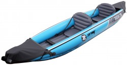 Kayak Canoa Gonfiabile Biposto ZRAY Roatan Cm 376x77x34 Pagaia a doppia pala inclusa