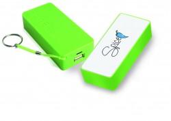 SPICE - 5200 MAH -POWER BANK BATT. EMERGENZA SMARTPHONE-I-POD-I-PHONE-S 3 -S 4 -S 5- TUTTI I TELEFONI DI NUOVA GENERAZIONE COLORE VERDE