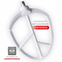 SPICE - Accessorio K Foglia Mixer con rivestimento ceramico antiaderente lavabile in lavastoviglie compatibile Spice EMILIA - G3Ferrari PASTAIO - Melchioni SUPREMA