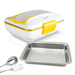 SPICE Amarillo Inox TRIO FLAT Scaldavivande elettrico vaschetta 1 Litro in Acciaio Inox estraibile con coperchio con guarnizione