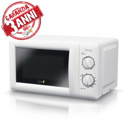 SPICE - JALAPENO GRILL 3 Anni di Garanzia forno Microonde Microwave combinato con GRILL 20 litri