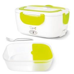 Spice Amarillo Easy scaldavivande Elettrico vaschetta Estraibile in plastica Portatile Box portavivande Termico 1,5 L