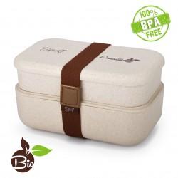 Spice Amarillo Bio Duo Scaldavivande Bento box schiscetta portatile portavivande termico materiale ecologico naturale BPA free