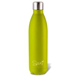 SPP058-500G - SPICE Bottiglia Termica in Acciaio Inox 500 ml Colore Verde Acido