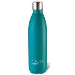 SPP058-750W - SPICE Bottiglia Termica in Acciaio Inox 750 ml - Colore Verde Acqua