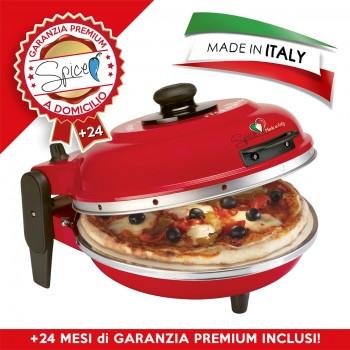 SPICE - FORNO PIZZA DIAVOLA 400 GRADI 1200 W - MADE IN ITALY + 4 ANNI GARANZIA ITALIA - RESISTENZA CIRCOLARE